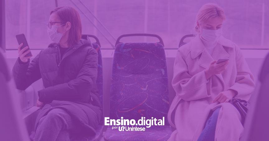Você sabe quais os cuidados recomendados ao usar ônibus, trens, metrô e avião, para evitar o coronavírus?