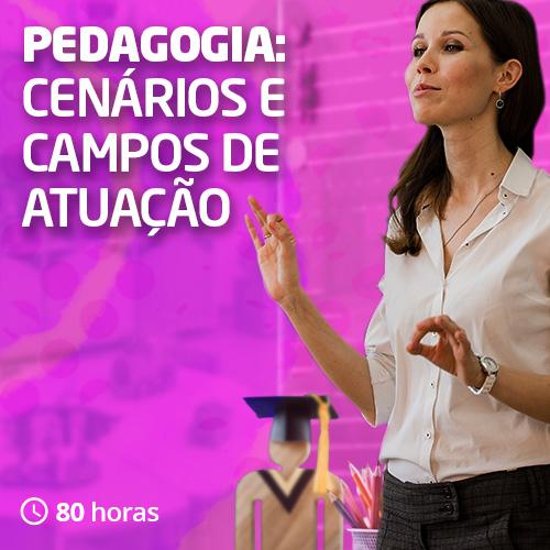 Pedagogia: cenários e campos de atuação